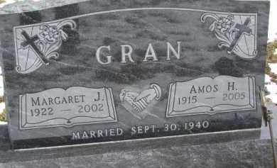 GRAN, AMOS H. - Dixon County, Nebraska | AMOS H. GRAN - Nebraska Gravestone Photos