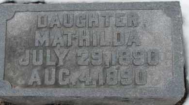 GRAVERHOLT, MATHILDA - Dixon County, Nebraska | MATHILDA GRAVERHOLT - Nebraska Gravestone Photos