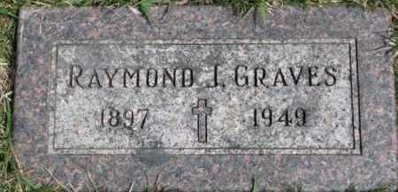 GRAVES, RAYMOND J. - Dixon County, Nebraska | RAYMOND J. GRAVES - Nebraska Gravestone Photos