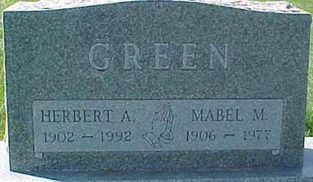 GREEN, HERBERT A. - Dixon County, Nebraska | HERBERT A. GREEN - Nebraska Gravestone Photos