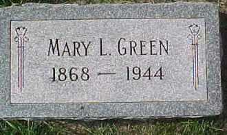 GREEN, MARY LOUISE - Dixon County, Nebraska | MARY LOUISE GREEN - Nebraska Gravestone Photos
