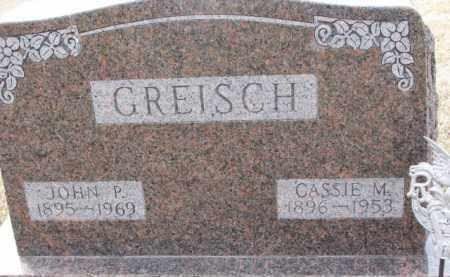 GREISCH, CASSIE M. - Dixon County, Nebraska | CASSIE M. GREISCH - Nebraska Gravestone Photos