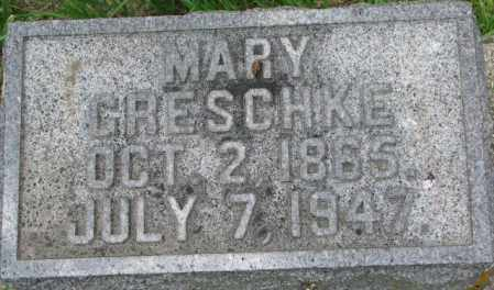 GRESCHKE, MARY - Dixon County, Nebraska | MARY GRESCHKE - Nebraska Gravestone Photos