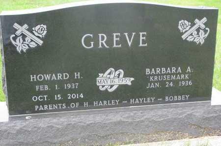 GREVE, BARBARA A. - Dixon County, Nebraska | BARBARA A. GREVE - Nebraska Gravestone Photos