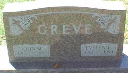 GREVE, JOHN M. - Dixon County, Nebraska | JOHN M. GREVE - Nebraska Gravestone Photos