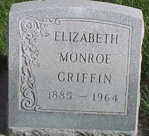 MONROE GRIFFIN, ELIZABETH - Dixon County, Nebraska | ELIZABETH MONROE GRIFFIN - Nebraska Gravestone Photos