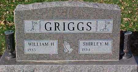 GRIGGS, WILLIAM H. - Dixon County, Nebraska | WILLIAM H. GRIGGS - Nebraska Gravestone Photos