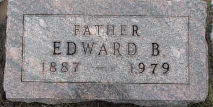 GRONLUND, EDWARD B. - Dixon County, Nebraska   EDWARD B. GRONLUND - Nebraska Gravestone Photos