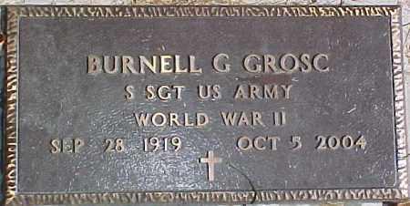 GROSC, BURNELL - Dixon County, Nebraska | BURNELL GROSC - Nebraska Gravestone Photos
