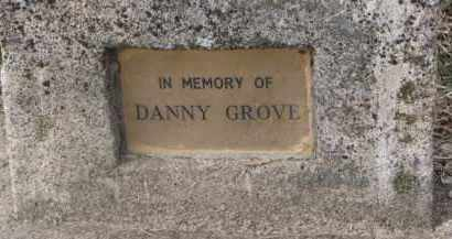 GROVE, DANNY - Dixon County, Nebraska | DANNY GROVE - Nebraska Gravestone Photos