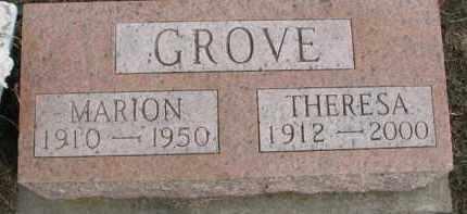 GROVE, THERESA - Dixon County, Nebraska | THERESA GROVE - Nebraska Gravestone Photos