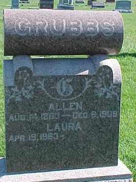 GRUBBS, LAURA - Dixon County, Nebraska   LAURA GRUBBS - Nebraska Gravestone Photos