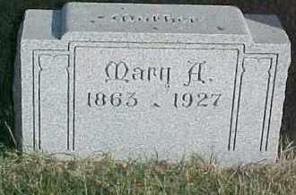 GRUBY, MARY A. - Dixon County, Nebraska   MARY A. GRUBY - Nebraska Gravestone Photos
