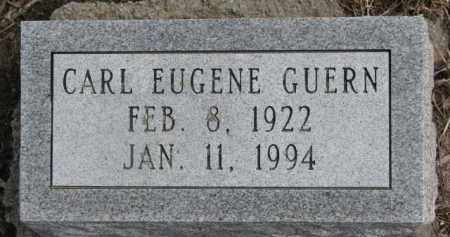 GUERN, CARL EUGENE - Dixon County, Nebraska | CARL EUGENE GUERN - Nebraska Gravestone Photos