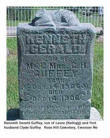 GUFFEY, KENNETH - Dixon County, Nebraska   KENNETH GUFFEY - Nebraska Gravestone Photos
