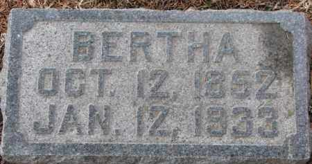GUNDERSON, BERTHA - Dixon County, Nebraska   BERTHA GUNDERSON - Nebraska Gravestone Photos