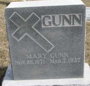 GUNN, MARY - Dixon County, Nebraska | MARY GUNN - Nebraska Gravestone Photos
