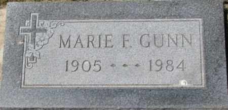 GUNN, MARIE F. - Dixon County, Nebraska | MARIE F. GUNN - Nebraska Gravestone Photos