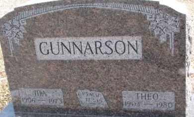 GUNNARSON, THEODORE - Dixon County, Nebraska | THEODORE GUNNARSON - Nebraska Gravestone Photos