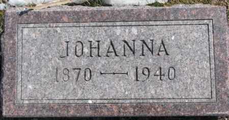 GUNNARSON, JOHANNA - Dixon County, Nebraska | JOHANNA GUNNARSON - Nebraska Gravestone Photos