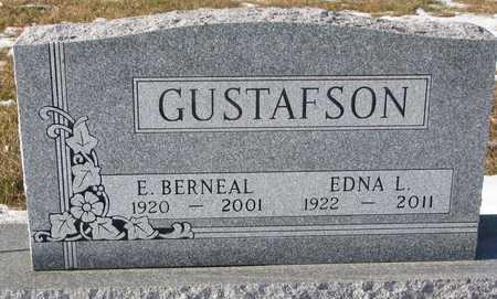 GUSTAFSON, EDWIN BERNEAL - Dixon County, Nebraska | EDWIN BERNEAL GUSTAFSON - Nebraska Gravestone Photos