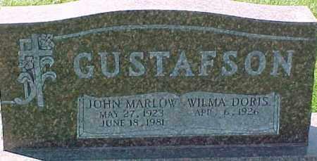 GUSTAFSON, JOHN MARLOW - Dixon County, Nebraska | JOHN MARLOW GUSTAFSON - Nebraska Gravestone Photos