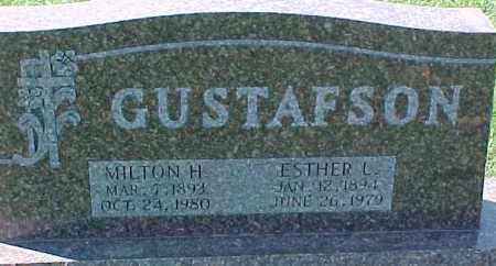 GUSTAFSON, MILTON H. - Dixon County, Nebraska | MILTON H. GUSTAFSON - Nebraska Gravestone Photos