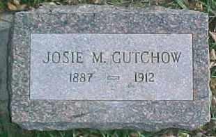 GUTCHOW, JOSIE M. - Dixon County, Nebraska | JOSIE M. GUTCHOW - Nebraska Gravestone Photos