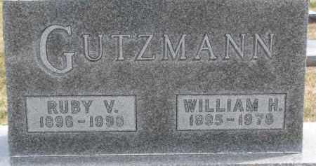 GUTZMANN, WILLIAM H. - Dixon County, Nebraska   WILLIAM H. GUTZMANN - Nebraska Gravestone Photos