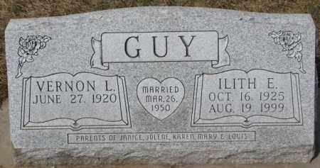 GUY, ILITH E. - Dixon County, Nebraska | ILITH E. GUY - Nebraska Gravestone Photos