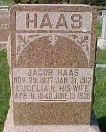 HAAS, LUCELIA R. - Dixon County, Nebraska | LUCELIA R. HAAS - Nebraska Gravestone Photos