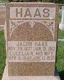 HAAS, JACOB - Dixon County, Nebraska | JACOB HAAS - Nebraska Gravestone Photos
