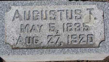 HAASE, AUGUSTUS T. - Dixon County, Nebraska | AUGUSTUS T. HAASE - Nebraska Gravestone Photos
