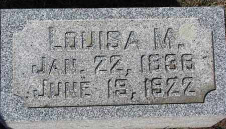HAASE, LOUISA M. - Dixon County, Nebraska | LOUISA M. HAASE - Nebraska Gravestone Photos