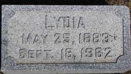 HAASE, LYDIA - Dixon County, Nebraska | LYDIA HAASE - Nebraska Gravestone Photos