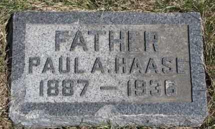 HAASE, PAUL A. - Dixon County, Nebraska | PAUL A. HAASE - Nebraska Gravestone Photos