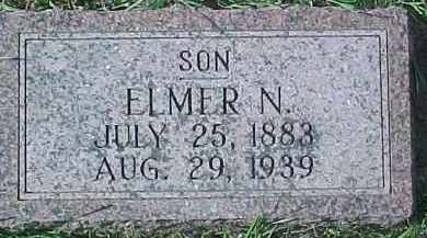 HAGLUND, ELMER N. - Dixon County, Nebraska | ELMER N. HAGLUND - Nebraska Gravestone Photos