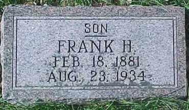 HAGLUND, FRANK H. - Dixon County, Nebraska | FRANK H. HAGLUND - Nebraska Gravestone Photos