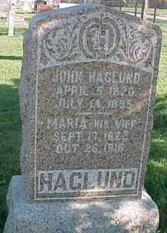 HAGLUND, JOHN - Dixon County, Nebraska | JOHN HAGLUND - Nebraska Gravestone Photos