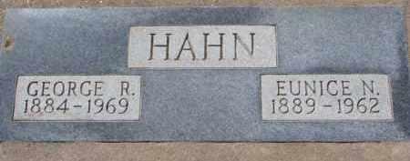 HAHN, EUNICE N. - Dixon County, Nebraska   EUNICE N. HAHN - Nebraska Gravestone Photos