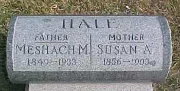 HALE, SUSAN A. - Dixon County, Nebraska | SUSAN A. HALE - Nebraska Gravestone Photos