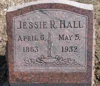 HALL, JESSIE R. - Dixon County, Nebraska   JESSIE R. HALL - Nebraska Gravestone Photos