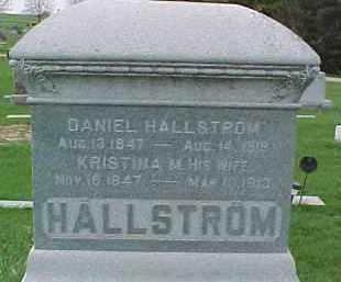 HALLSTROM, DANIEL - Dixon County, Nebraska | DANIEL HALLSTROM - Nebraska Gravestone Photos