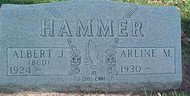 HAMMER, ARLINE M. - Dixon County, Nebraska | ARLINE M. HAMMER - Nebraska Gravestone Photos