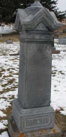 HANGMAN, ANNE - Dixon County, Nebraska | ANNE HANGMAN - Nebraska Gravestone Photos