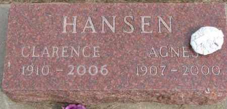 HANSEN, AGNES - Dixon County, Nebraska   AGNES HANSEN - Nebraska Gravestone Photos