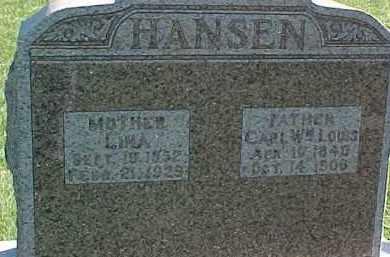 HANSEN, CARL WM. LOUIS - Dixon County, Nebraska   CARL WM. LOUIS HANSEN - Nebraska Gravestone Photos