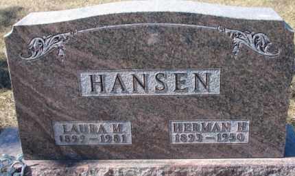 HANSEN, LAURA M. - Dixon County, Nebraska | LAURA M. HANSEN - Nebraska Gravestone Photos