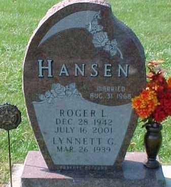 HANSEN, LYNNETT G. - Dixon County, Nebraska | LYNNETT G. HANSEN - Nebraska Gravestone Photos