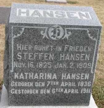 HANSEN, STEFFEN - Dixon County, Nebraska | STEFFEN HANSEN - Nebraska Gravestone Photos